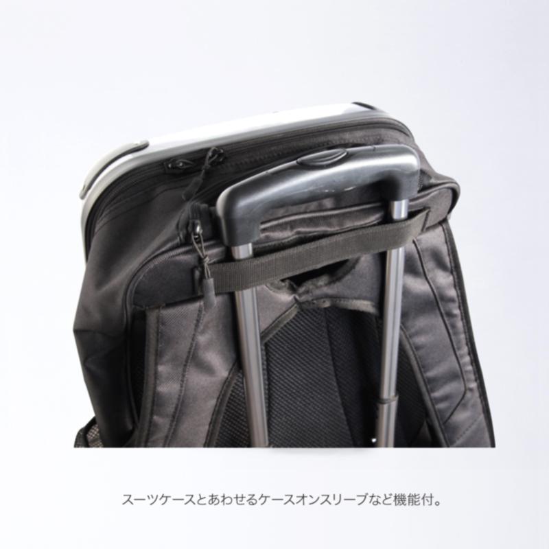 キャラート アートリュックサック 古屋育子 魂(black) Mサイズ18inch