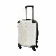 キャラート アートスーツケース ベーシック ジオメタリック パッションレッド フレーム4輪 機内持込