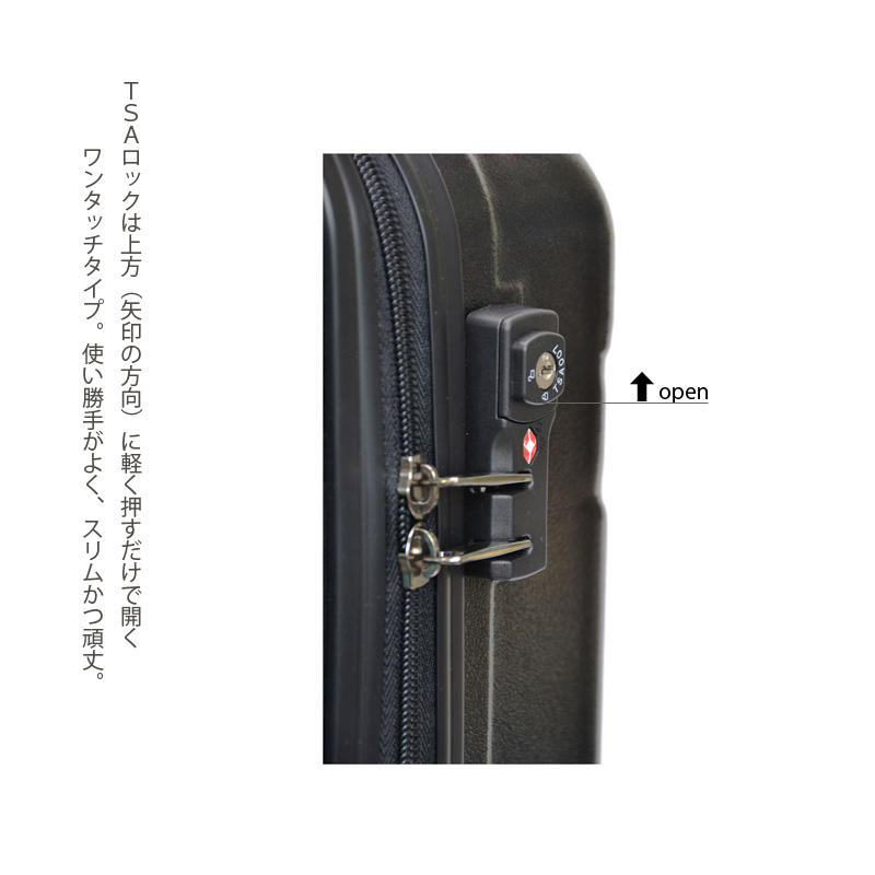 キャラート|アートスーツケース|プロフィトロール ゆるり1(浅青)|ジッパー4輪|機内持込