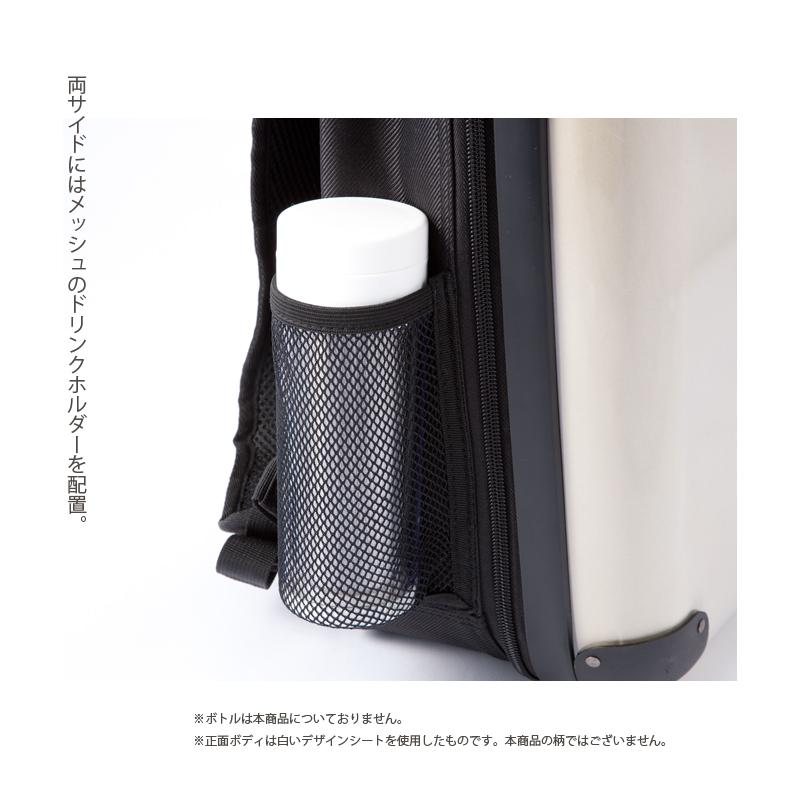 キャラート アートリュックサック ダイアモンドチェック(ネイビー×レッド×ホワイト) S 15inch M 18inch