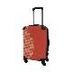 キャラート|アートスーツケース|ベーシック ジオメタリック|パッションレッド|フレーム4輪|機内持込