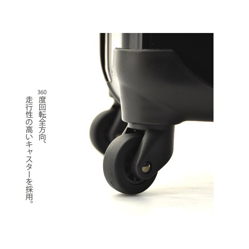 キャラート|アートスーツケース|プロフィトロール ゆるり2(真紅)|ジッパー4輪|機内持込