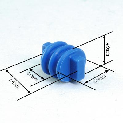 BSH型空端子用プラグ(青色)
