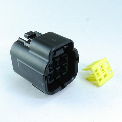 FRA型6極メスコネクター(黒色)