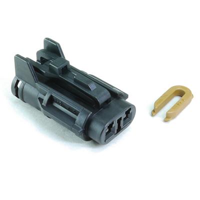 FRY型2極メスコネクター(黒色)