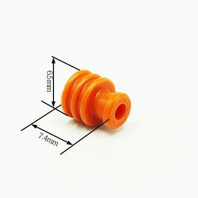 W型ワイヤー防水シール(オレンジ)