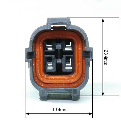 FRY型4極オスコネクター(黒色)