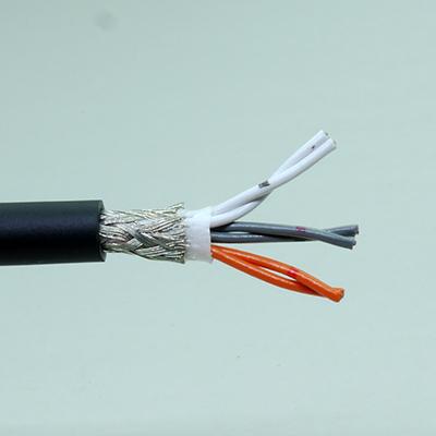 シールド付ケーブル2×3ツイストペア