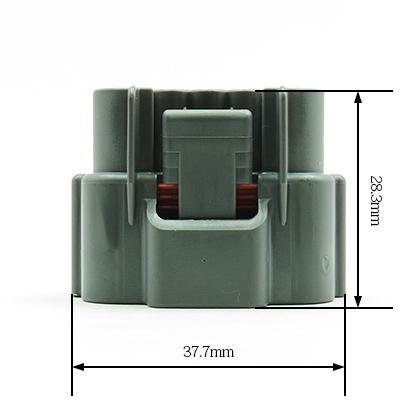 E型5極メスコネクター(灰色)