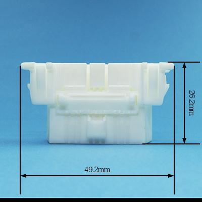 OBD型16極メスコネクター(白色)