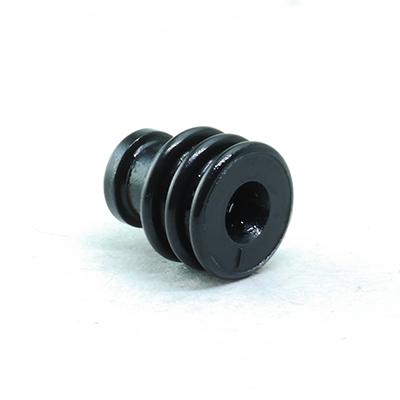 W型ワイヤー防水シール(黒色)