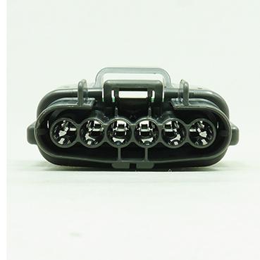 E型6極メスコネクター(灰色)