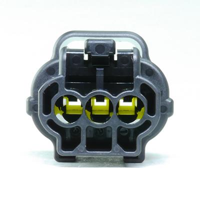 FRA型3極メスコネクター(黒色)