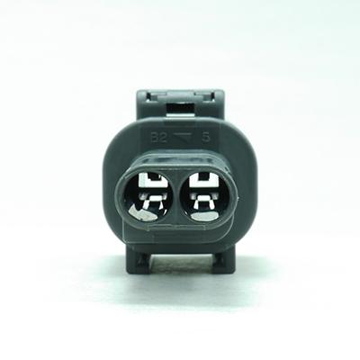 FRM型2極オスコネクター(灰色)