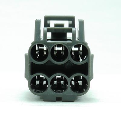 FRM型6極メスコネクター(灰色)