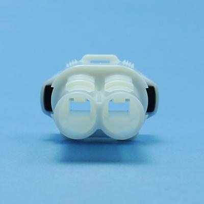 FRS型2極オスコネクタ(白色)
