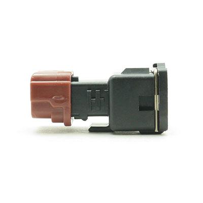 BSH型2極メスコネクター(黒色)