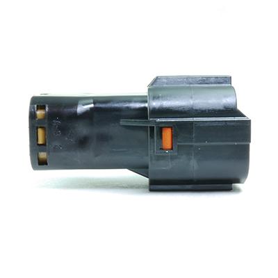 FRY型6極オスコネクター(黒色)