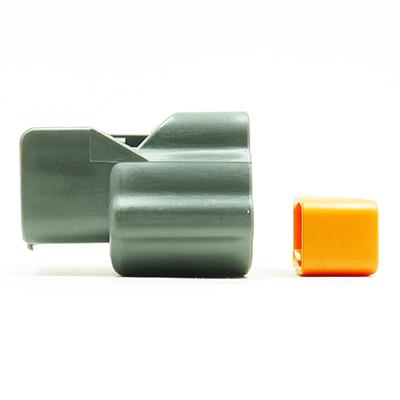 E型2極メスコネクター(灰色)