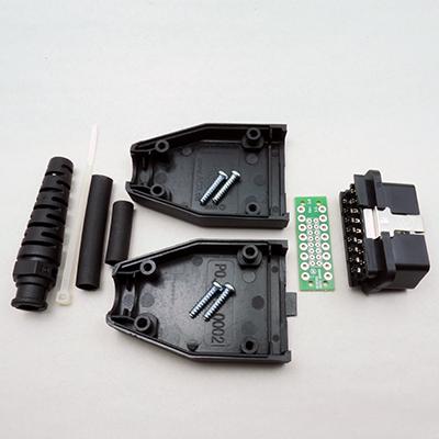 OBD型16極オスコネクターキット24V