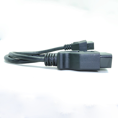 OBD2分岐ケーブル15cm