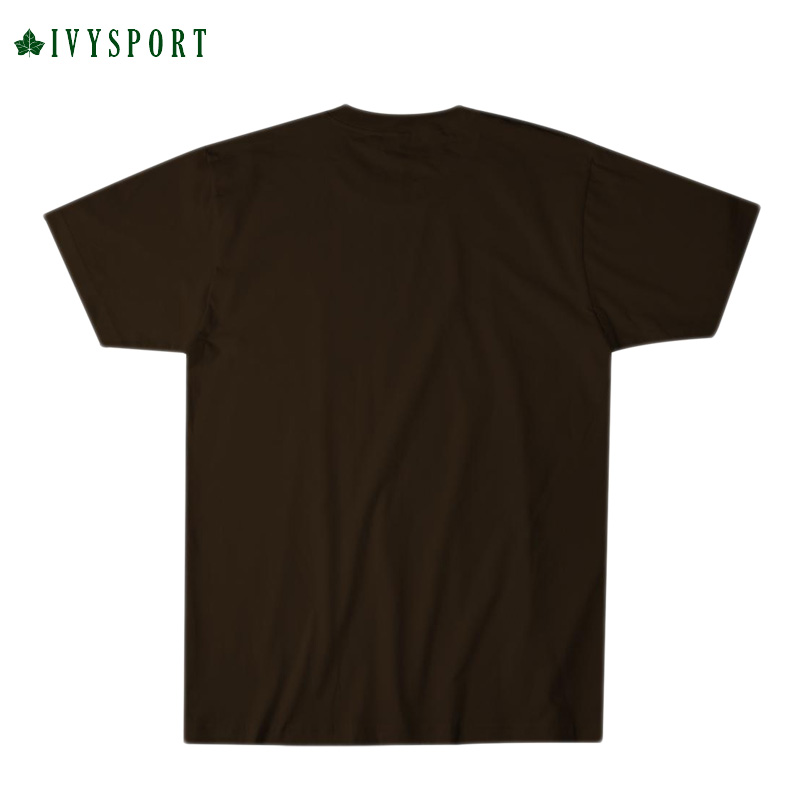 IVYSPORT [アイビースポーツ] - Brown Crest T-Shirt (Brown)