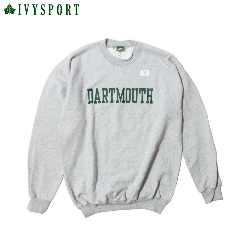 IVYSPORT [アイビースポーツ] - Classic Crew Sweatshirt (Heather Grey) / 3Col.