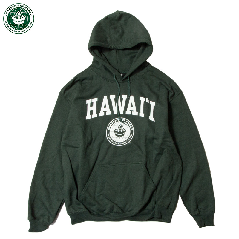 【NEW AGENDA】 - University of Hawai _ Classic Hoodie Sweatshirt / 2Col.