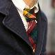 JOHN SCOTT [ジョンスコット] _ Narrow Tie - Plaid / 6col.