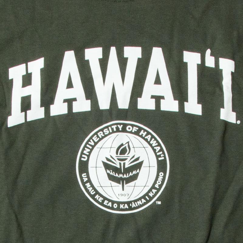 【NEW AGENDA】 - University of Hawai _ Classic T-Shirt / Green