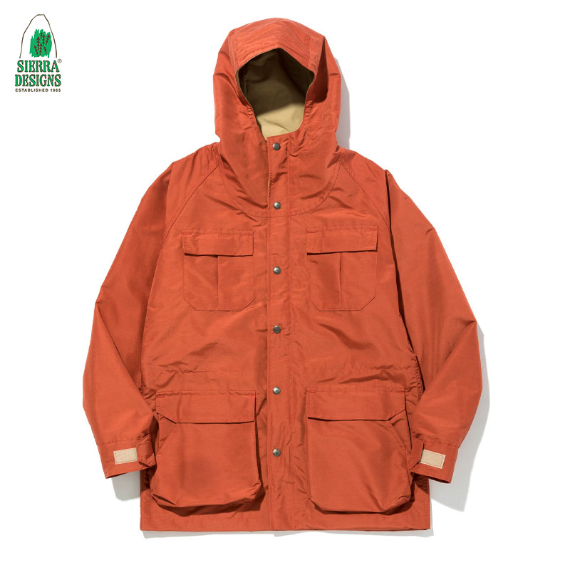 SIERRA DESIGNS [シェラデザイン] - MOUNTAIN PARKA _【60/40】 Made in U.S.A. / Rust/V.Tan