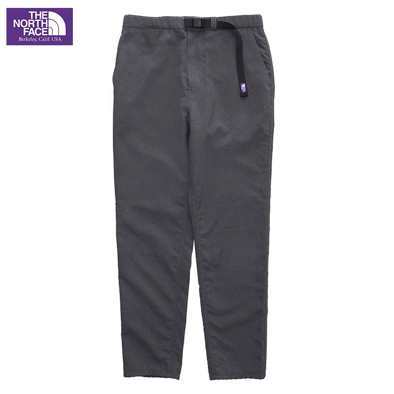 THE NORTH FACE PURPLE LABEL [ノースフェイス パープルレーベル] _ Polyester Tropical Field Pants / Ligth Grey