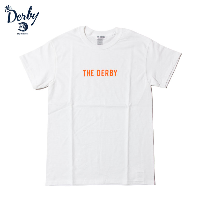 THE DERBY [ダービー] - Sign Logo TEE / 2Col.