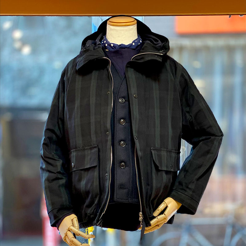 ENDS and MEANS × CASSIDY'81 - SANPO JACKET 【SPECIAL ORDER】 / BLACKWATCH
