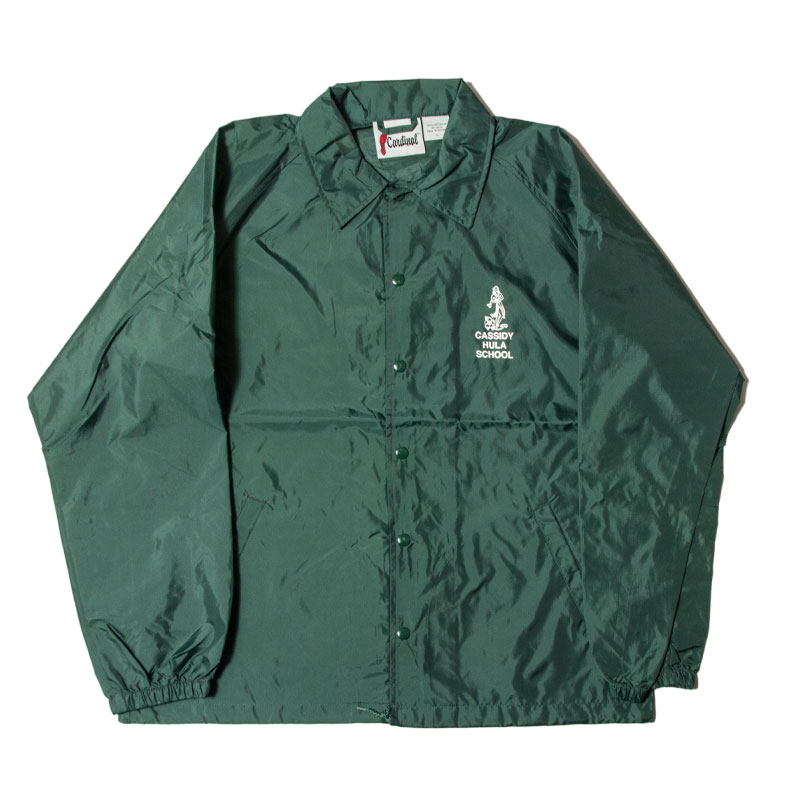 CASSIDY ATHLETIC [キャシデイ アスレチック] - CARDINAL NYLON  COACH JACKET / 4Col.