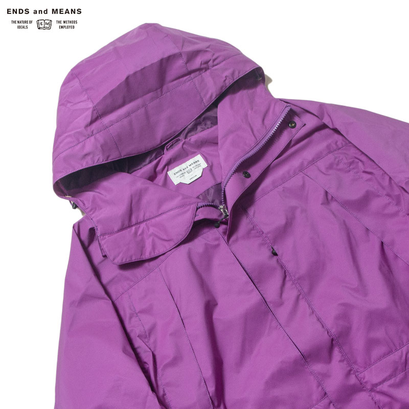 ENDS and MEANS [エンズアンドミーンズ] - EMountain Parka / Purple