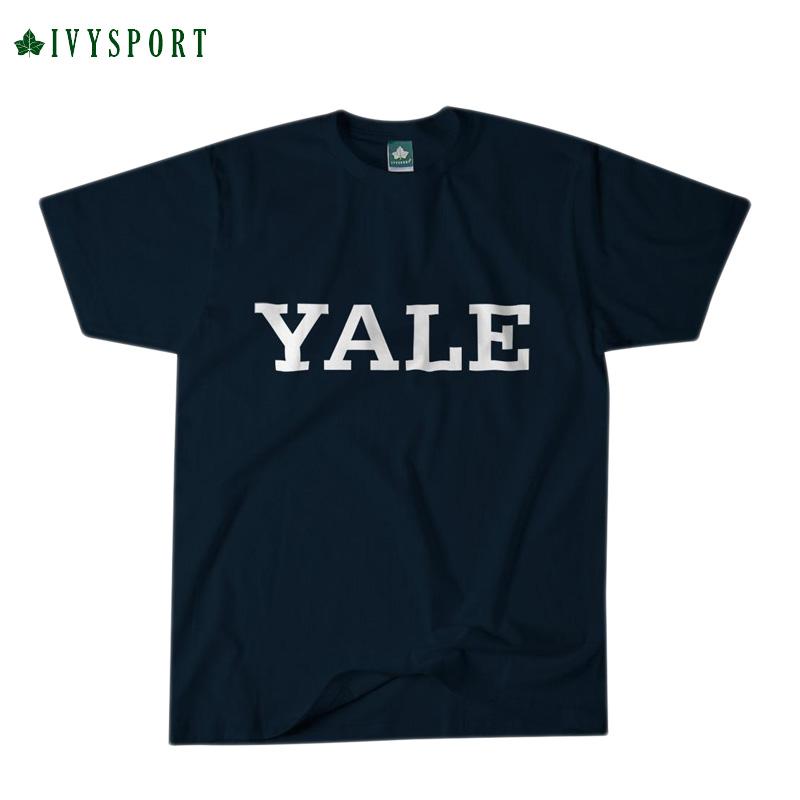 IVYSPORT [アイビースポーツ] - Yale Classic T-Shirt (Navy)