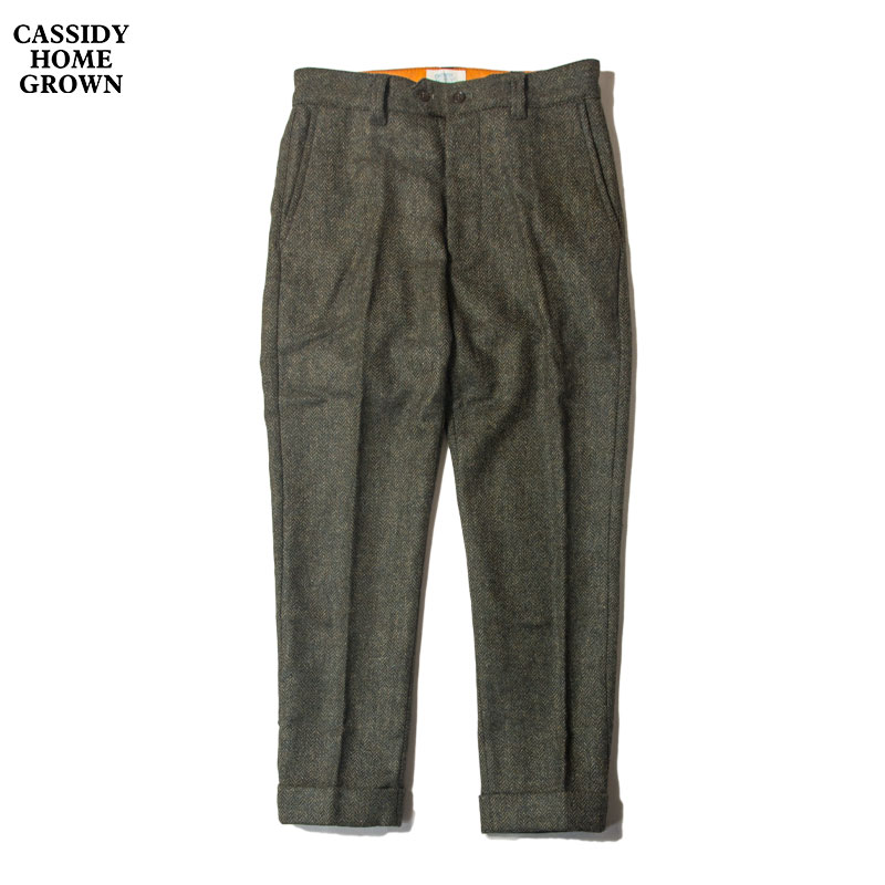 CASSIDY HOME GROWN [キャシディ・ホームグロウン] - 2021 F/W _ TWEED PANT