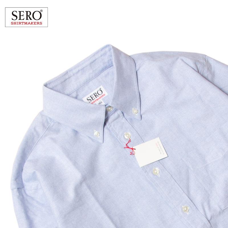 SERO [セロ] - B.D SHIRTS ボタンダウンシャツ_OXFORD(オックスフォード) / 2Col.
