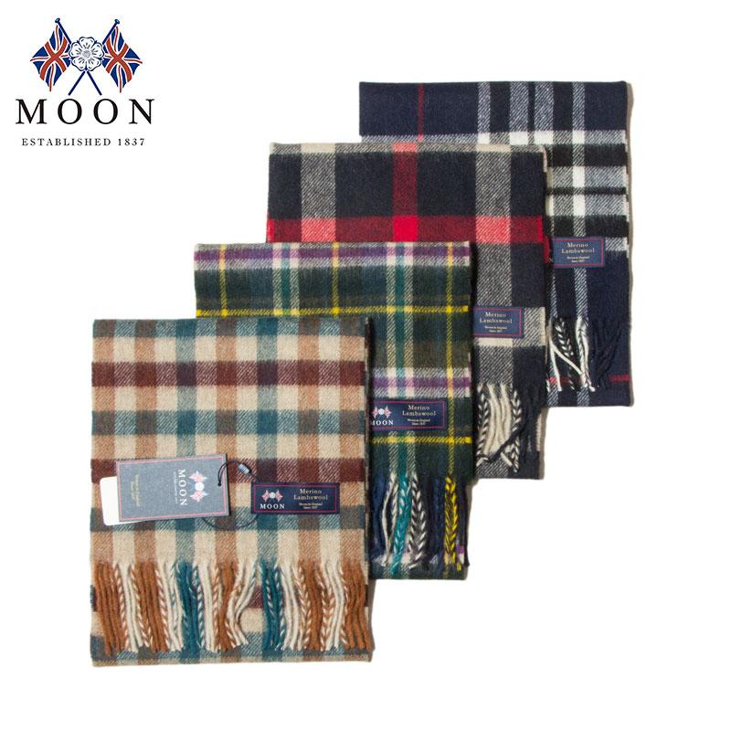 MOON [ムーン] - Merino Lambswool Muffler / 4Col.