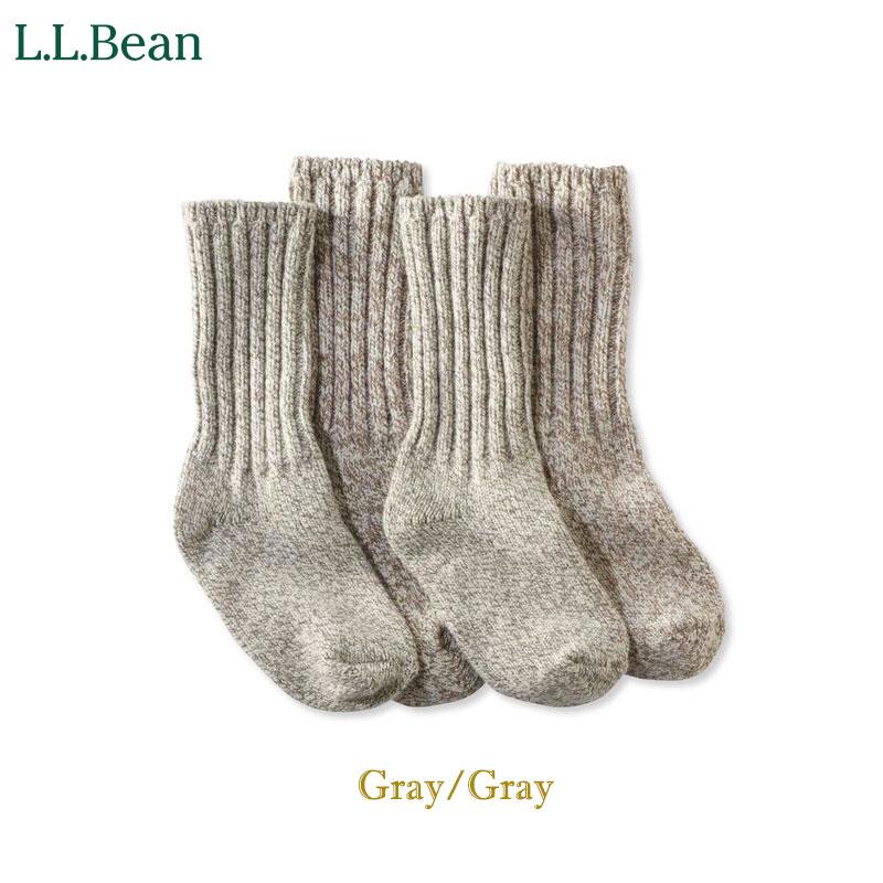 L.L.Bean [エル・エル・ビーン] - Merino Wool Ragg Socks _ 2 Pairs - Mサイズ  /  3col.