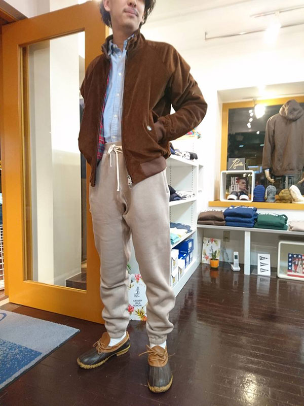 ENDS and MEANS [エンズアンドミーンズ] _ Sweat Pant / Ash
