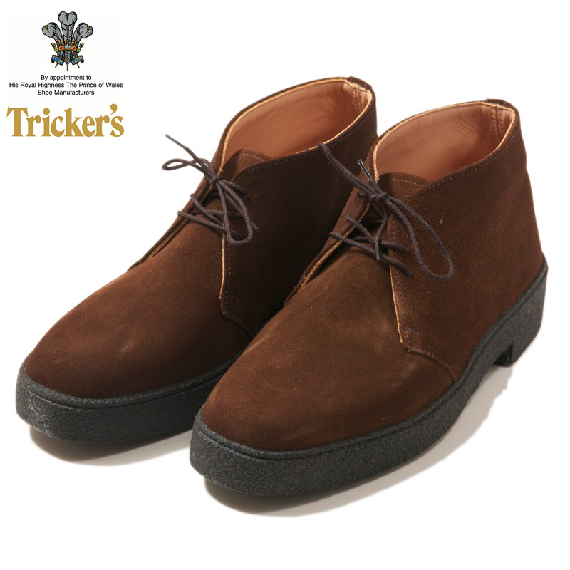 Tricker's [トリッカーズ] - Mud Guard Chukka Boots(マッドガード) _ SNUFF SUEDE / BROWN