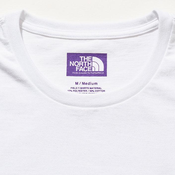 THE NORTH FACE PURPLE LABEL [ノースフェイス パープルレーベル] _ Pack Field Tee / NAVY