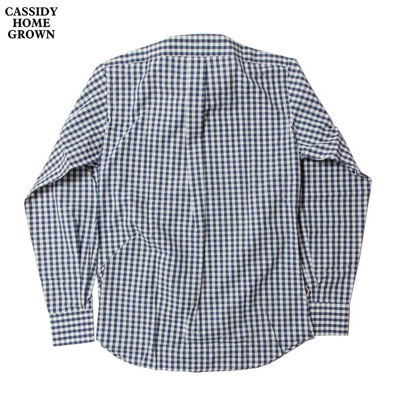 CASSIDY HOME GROWN [キャシディ・ホームグロウン] - L/S B.D Shirt _ Gingham Check / Navy