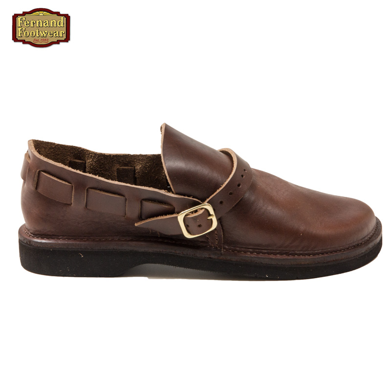 Fernand Footwear [フェルナンド・フットウェア] _ Middle English / Brown Smooth