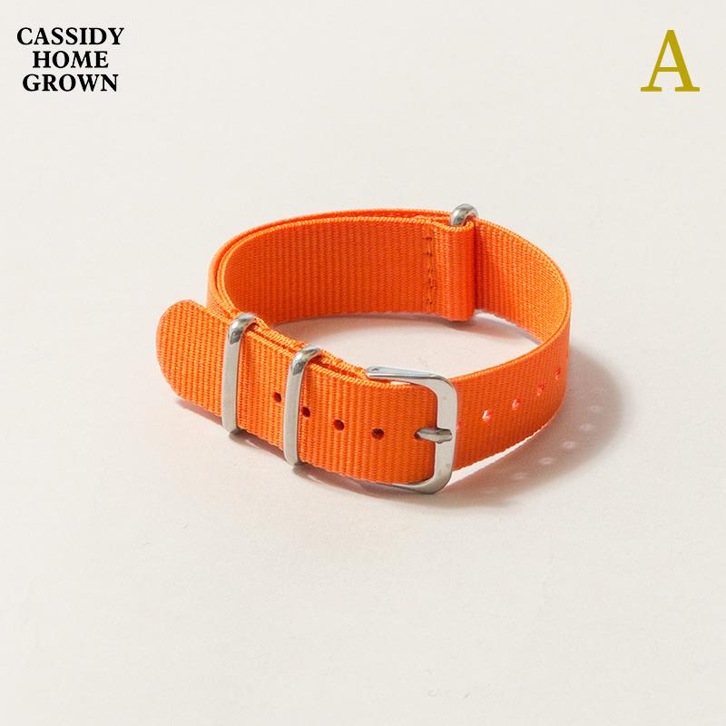 CASSIDY HOME GROWN [キャシディ・ホームグロウン] - WATCH BELT _ SOLID