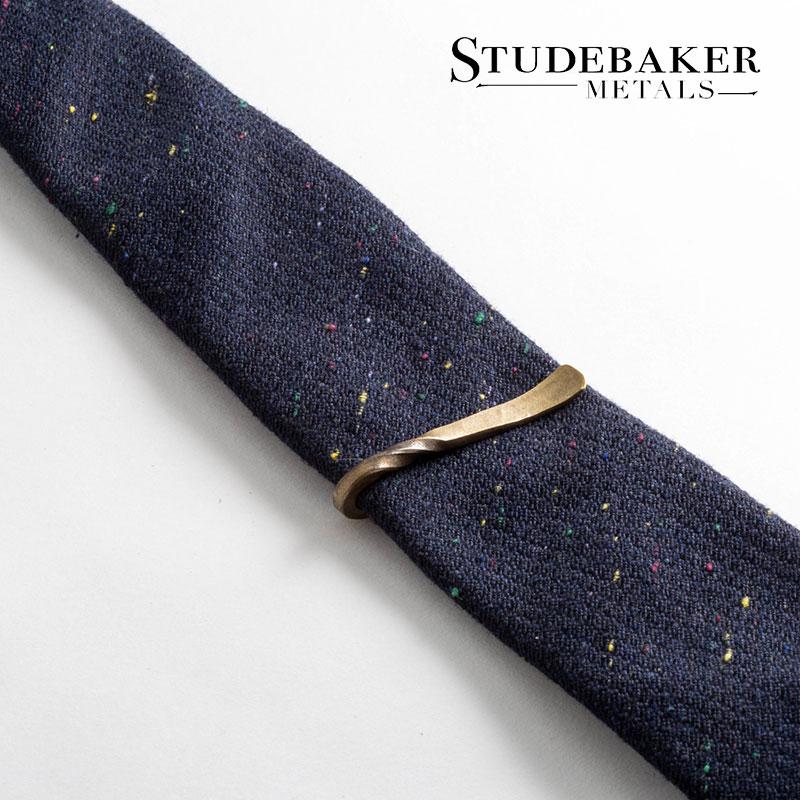 STUDEBAKER METALS [スチュードベーカー メタル] - TWISTED TIE BAR / Brass