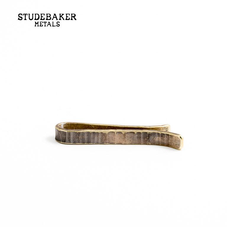 STUDEBAKER METALS [スチュードベーカー メタル] - BESSEMER TIE BAR / Brass