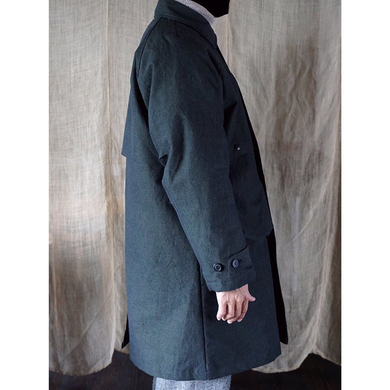 ENDS and MEANS [エンズアンドミーンズ] _ Journalist Coat / BLACK